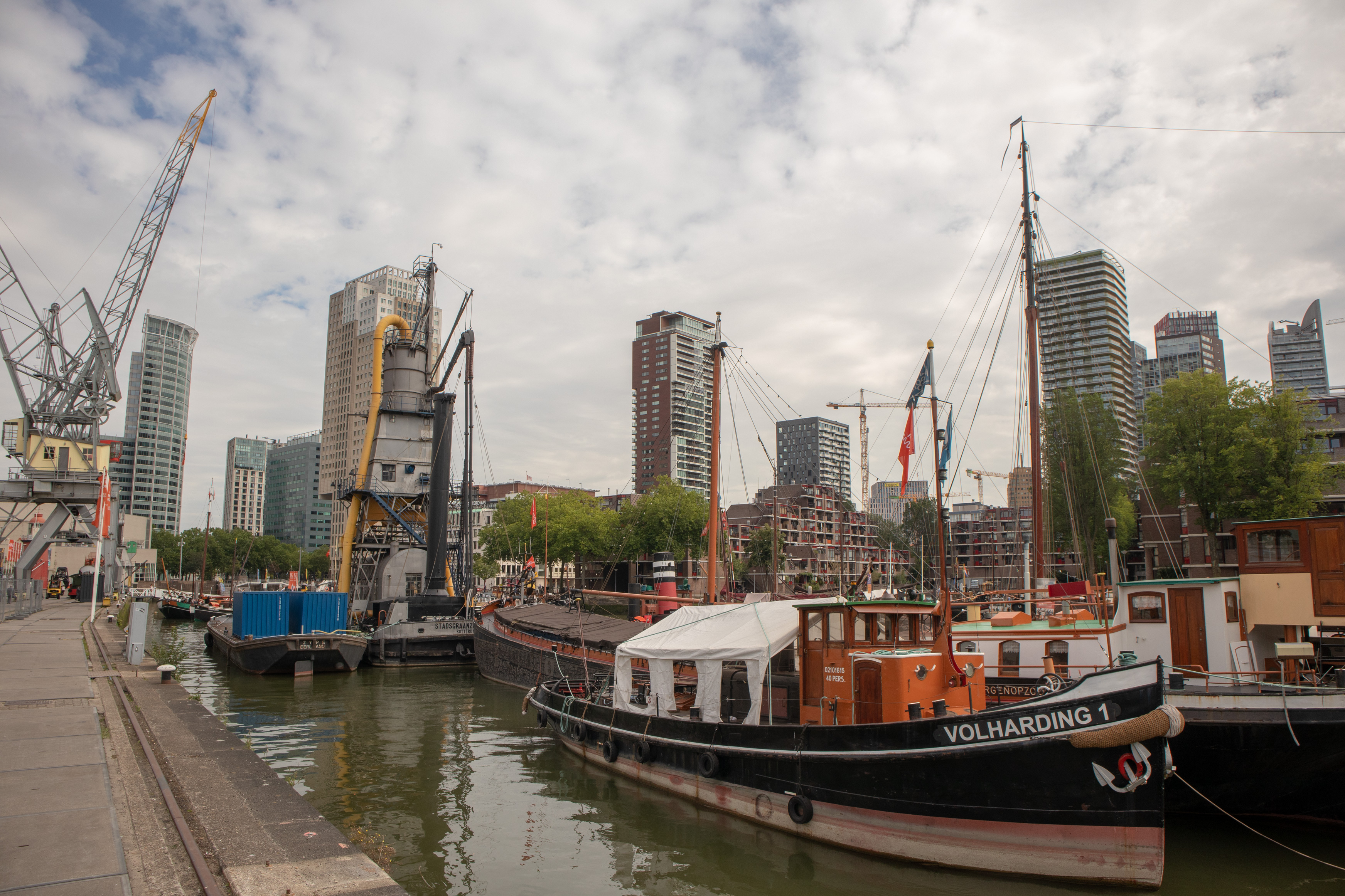 Rotterdam alter Hafen