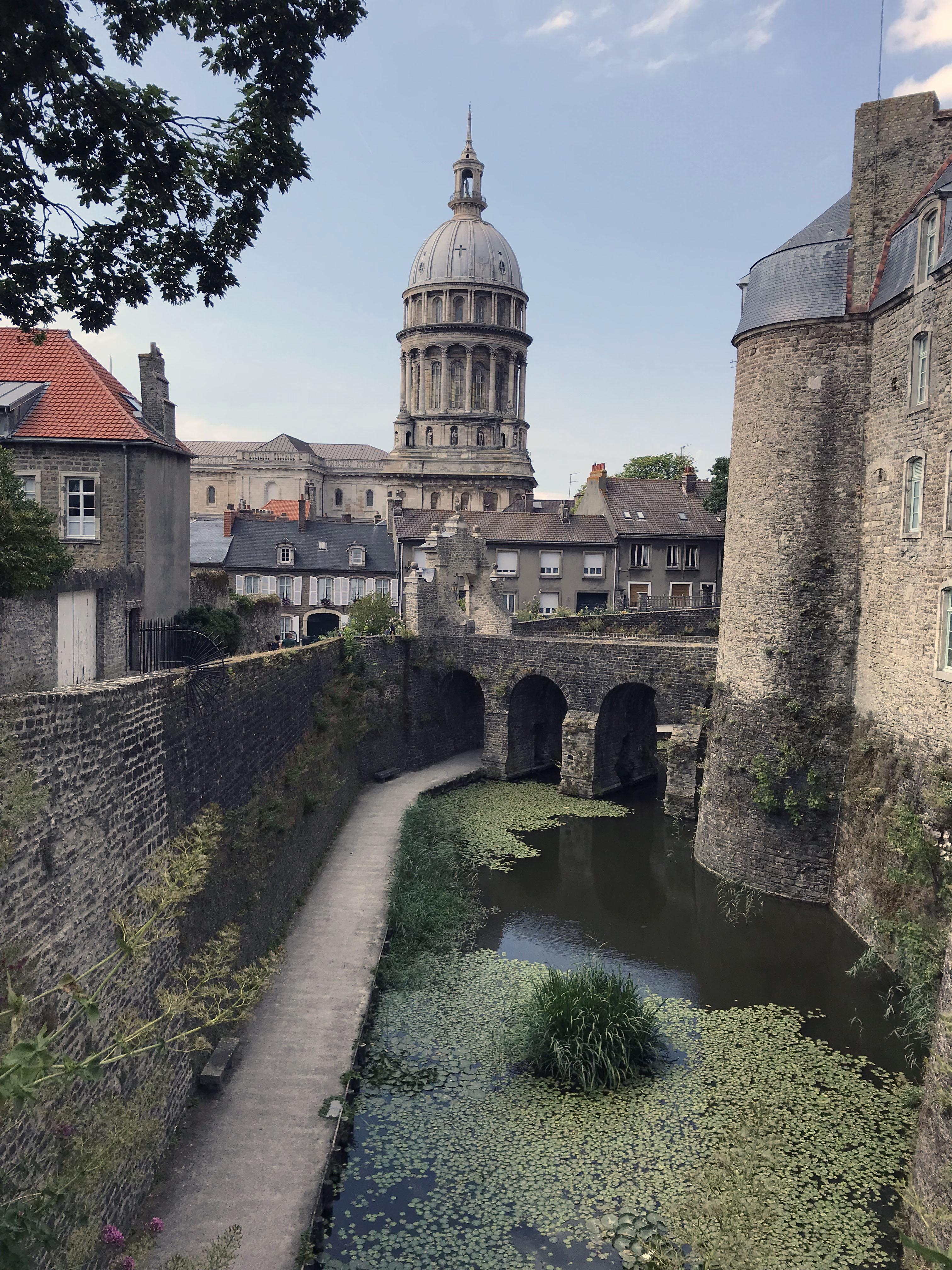 Die Festung Boulogne sur meer