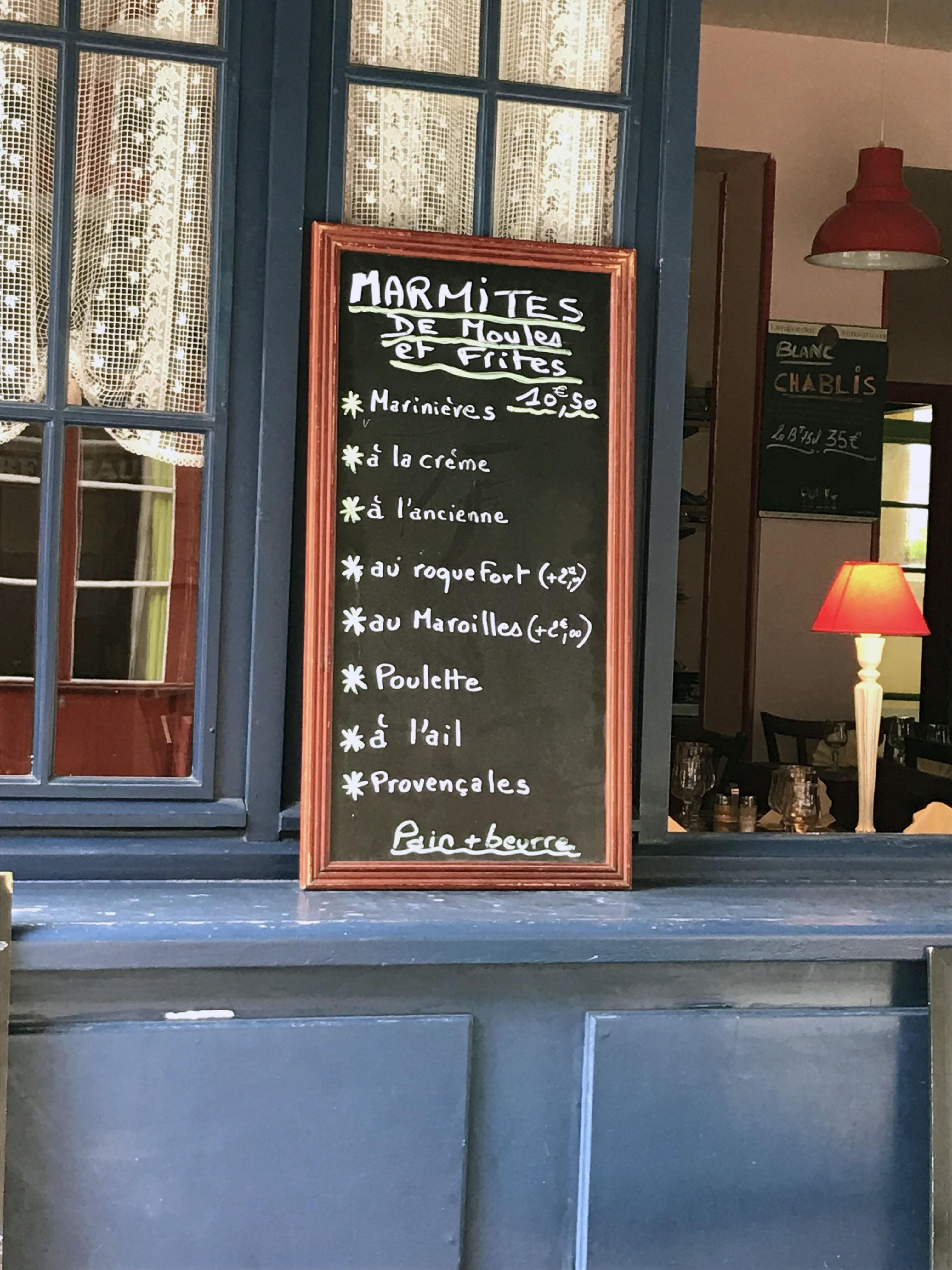 In Boulogne sur meer gibt es lecker Muscheln