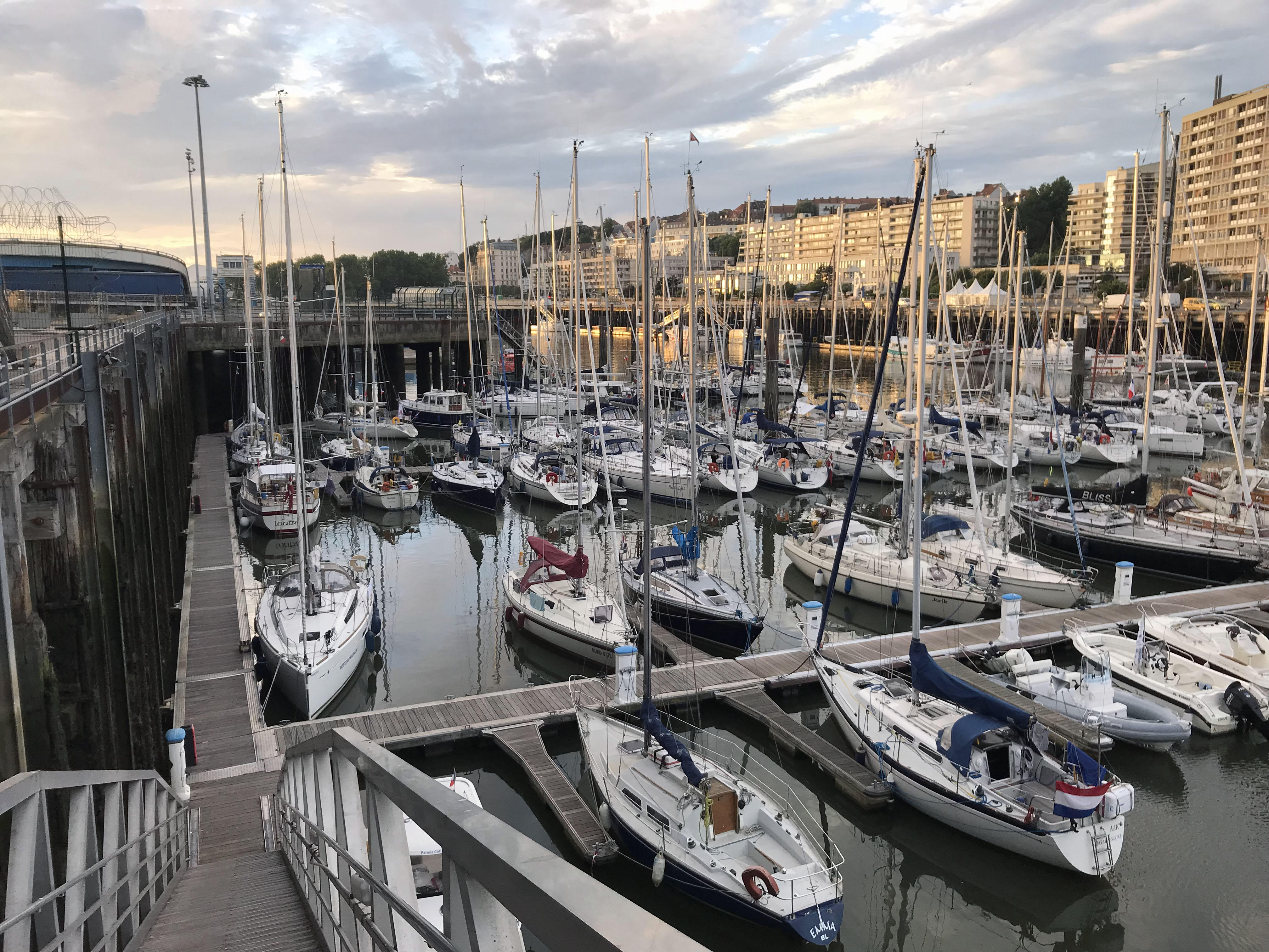 Boulogne sur meer Marina