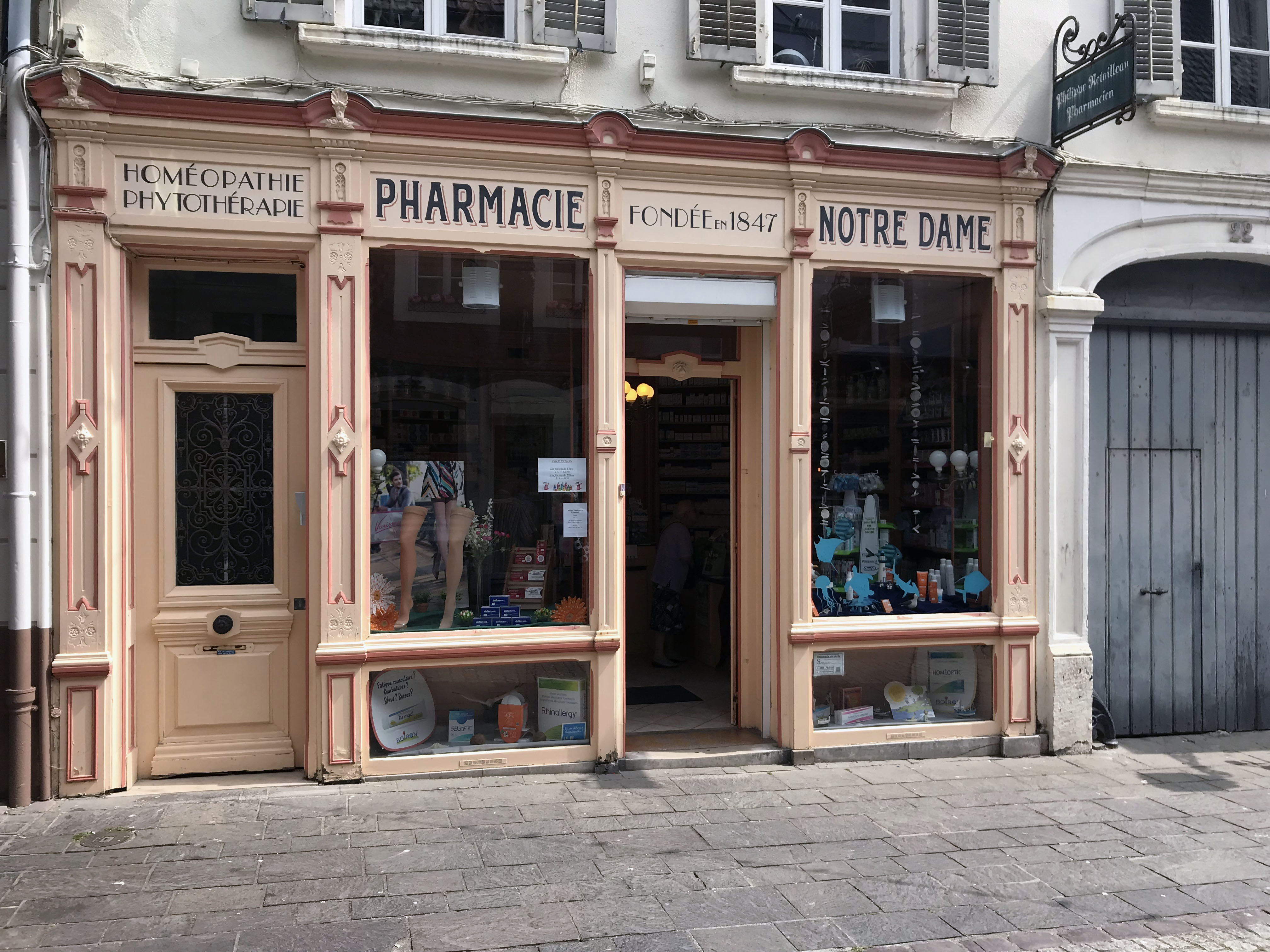 Pharmacie in Boulogne sur meer