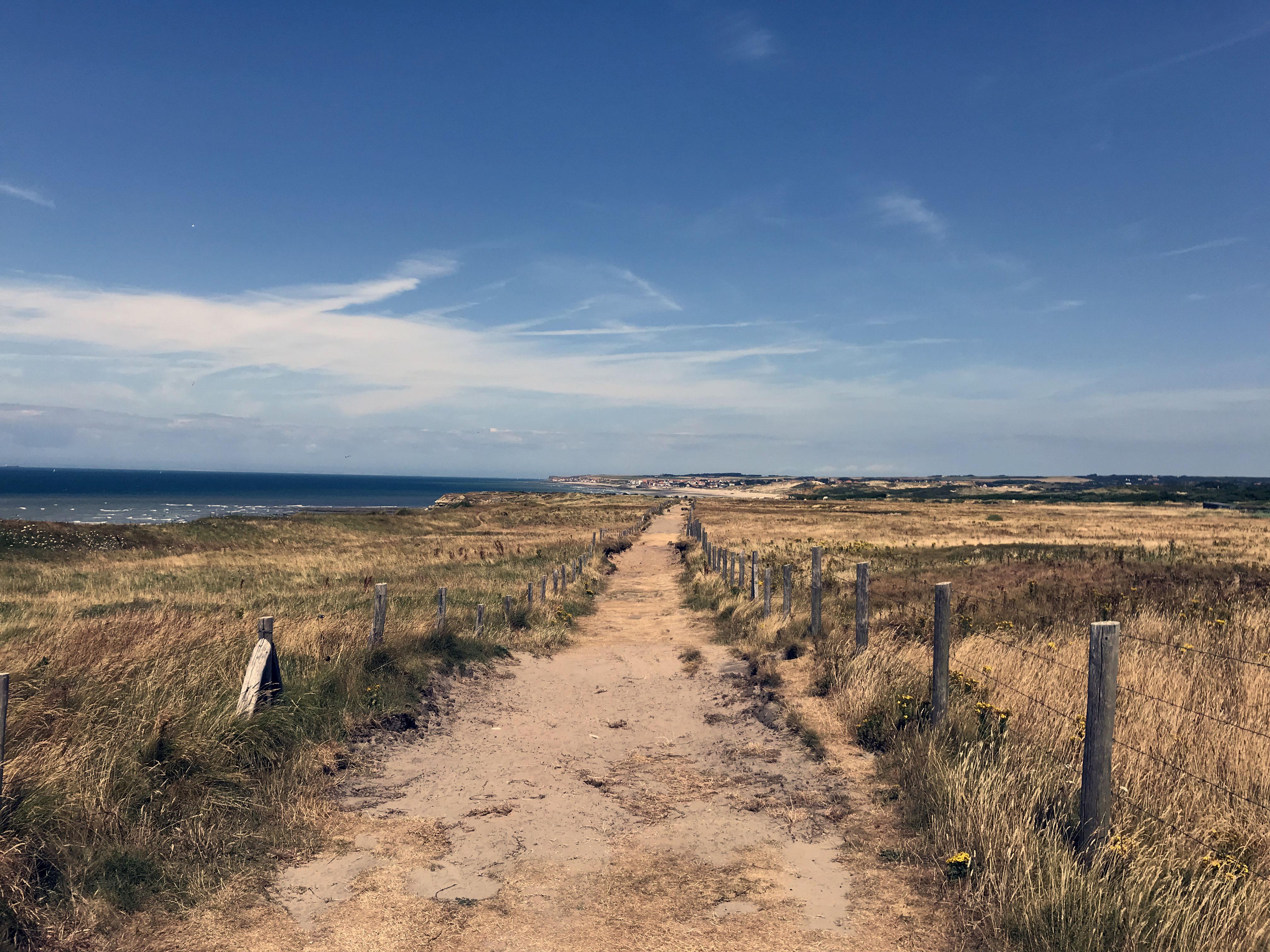Strandweg bei Wimereux