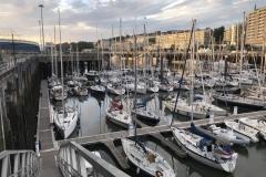 Boulogne sur meer Marina
