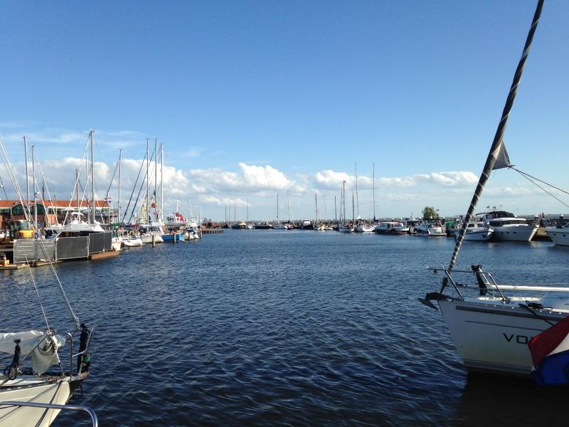 Der Hafen von Urk