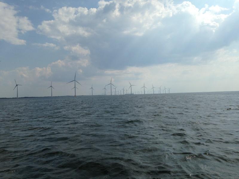 Windpark zwischen Lemmer und Urk